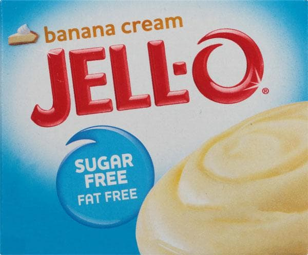Jello-O Sugar-Free Instant Pudding Banana Cream