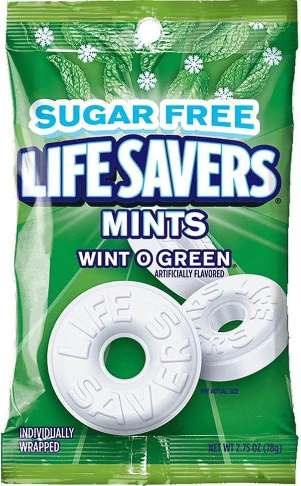 Life Savers Wint O Green Sugar-Free