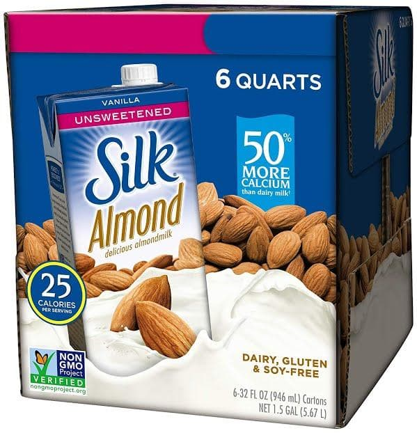 Silk Almond Milk Unsweetened Vanilla